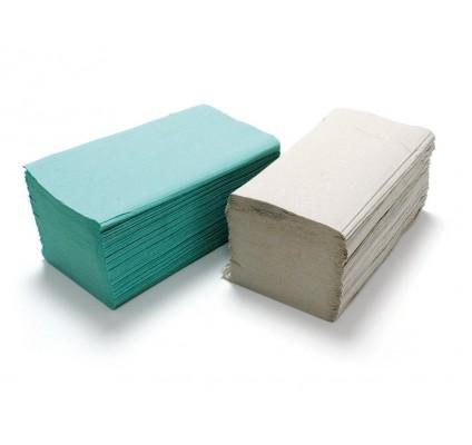 Papírový ručník ZZ, šedý