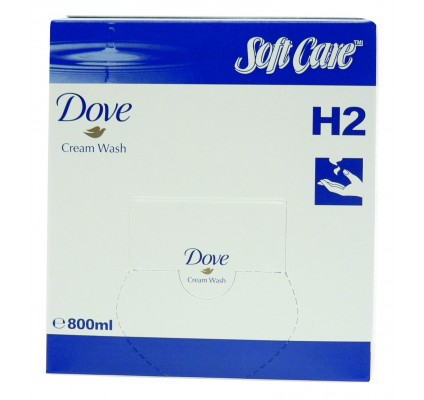 SoftCare Dove Cream Wash, 800ml